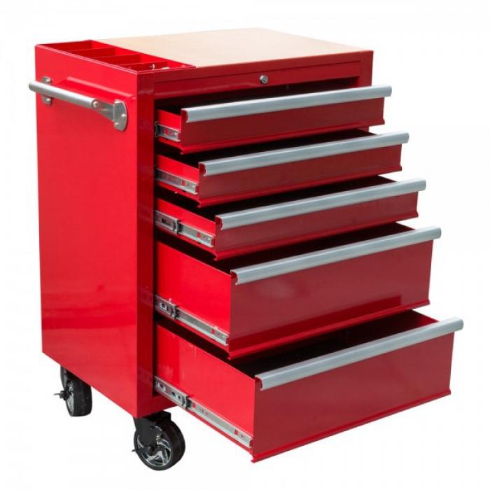 carrello rosso portautensili
