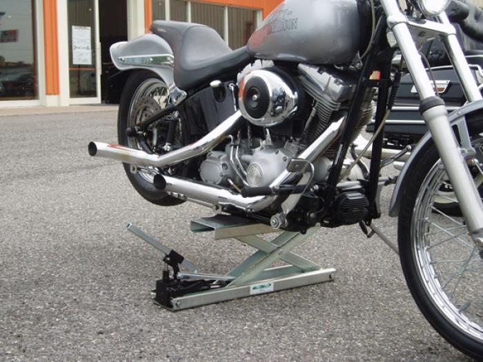 lève moto hydraulique